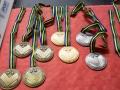 2017 WC Gent medals