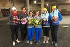 2017 LČ sieviešu dubultspēles 1. posms