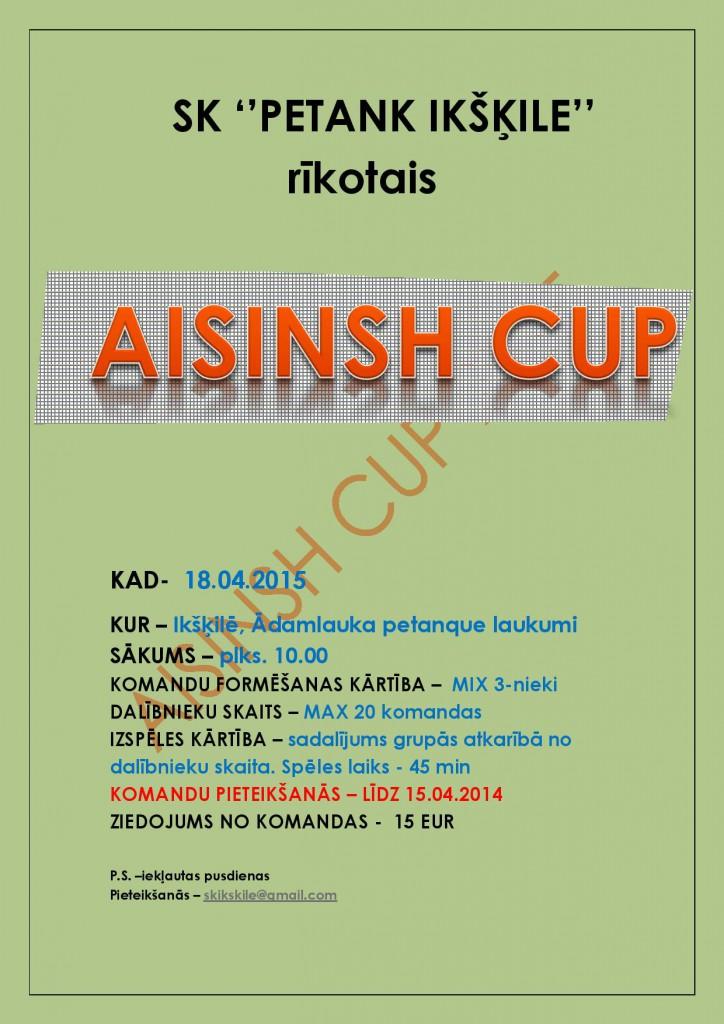 Aisinsh Cup 2015